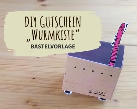 DIY Gutschein Bastelvorlage